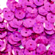 Value Pack 50g 8mm Hologram Cerise Semi-cupped Sequins